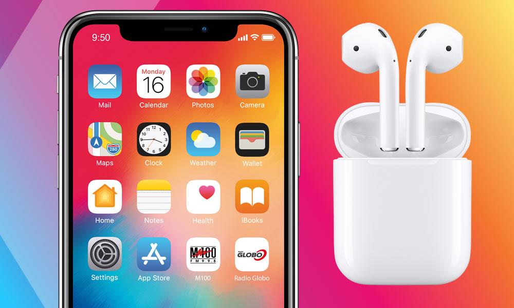 reputable site b64d7 f4f3d Vinci il nuovo iPhone XS e le cuffie AirPods con Radio Globo!